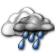 Mostly Cloudy with Showers Likely